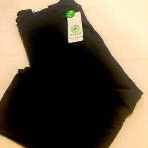 Brand new Gaiam full length yoga pants